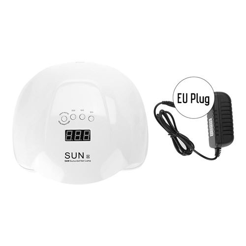 220V 54W Uv Lampe À Ongles De Séchage De Gel De Dessiccateur (Eu Plug)