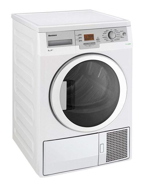 blomberg tkf8455age60 sèche-linge heat pump a++ gris, blanc - achat