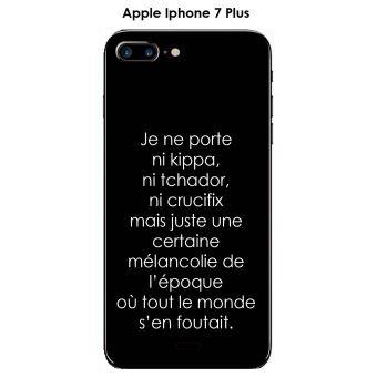 iphone 7 plus coque citation