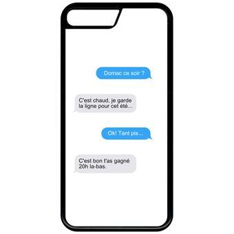 coque iphone 8 message