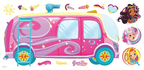 RoomMates stickers muraux Sunny Day vinyl 14 pièces