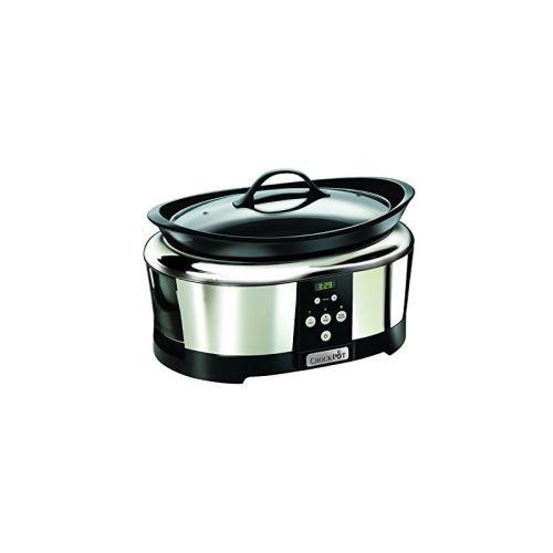 Mijoteuse Crock-Pot Numérique 5,7 L Argent et Noir