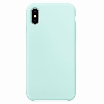 Coque pour Iphone XS MAX 6,5 rubber sable turquoise