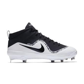 Homme Pour De Mid Nike Métal 4 Air Noir Crampons Baseball Trout E2IWDH9