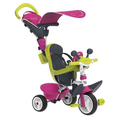 Tricycle Smoby Baby Driver Confort Rose - Tricycle. Achat et vente de jouets, jeux de société, produits de puériculture. Découvrez les Univers Playmobil, Légo, FisherPrice, Vtech ainsi que les grandes marques de puériculture : Chicco, Bébé Confort, Mac La