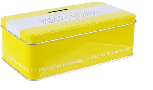 La Boite A - Ma boîte à pièces jaunes