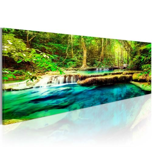 Tableau - A Jewel of Nature .Taille : 135x45
