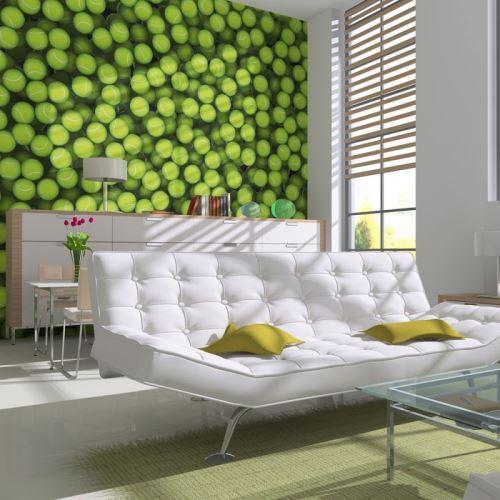 Papier peint - Balles de tennis (fond) - Size: 300x231