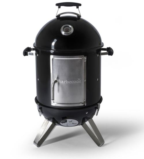 Fumoir à charbon Barbecook Oskar S Noir et Gris