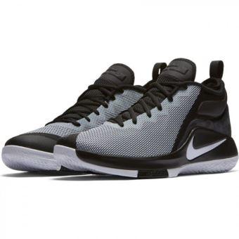 the latest 693f3 34afa Chaussure de Basketball Nike Zoom Lebron Witness 2 Noir et blanche pour  homme Pointure - 42 - Chaussures et chaussons de sport - Achat   prix   fnac