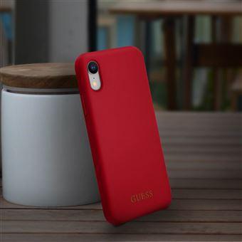 coque iphone xr bumper rouge