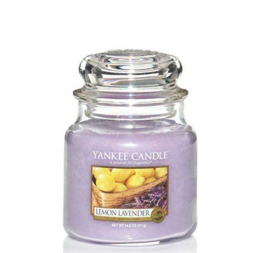 Citron et Lavande - Bougie parfumée moyenne jarre