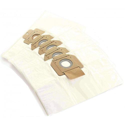 Lot 5 sacs synthetique pour aspirateur attix 30 nilfisk - d312036