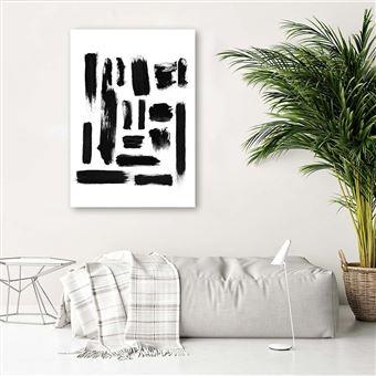 Impression sur Toile intiss/ée Cascade Chute deau 120x40 cm decomonkey 1 Piece Tableau Mural Image sur Toile Photo Images Motif Moderne D/écoration tendu sur Chassis Nature