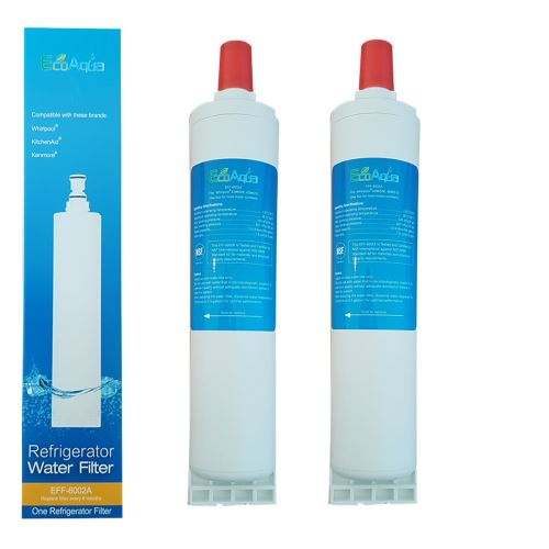 2 X Filtre Ecoaqua Eff6002A Remplace Whirlpool Sbs002, Sbs001, Sbs200