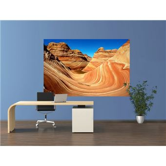 Montagnes Papier Peint Photo Poster Autocollant The Wave Coyote