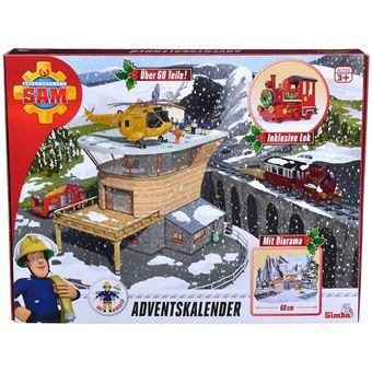 Calendrier De L Avent Spiderman.Calendrier De L Avent Sam Le Pompier Avec Decor Figurines Locomotive Accessoires