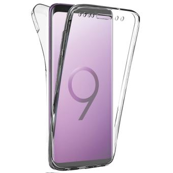 Coque Gel 360 Integrale pour Samsung Galaxy S9 [Résistant Aux Rayures]