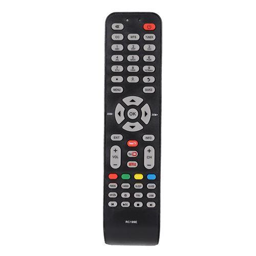 Télécommande de Remplacement TV pour TCL 06 519W49 D001X L32D2740E L32D2740EISD