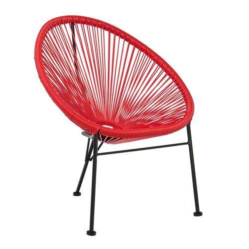 SKLUM Chaise pour enfants Mini Acapulco Rouge Coquelicot