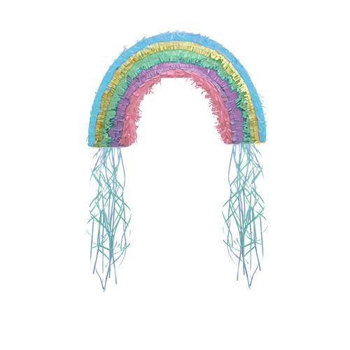 Amscan pendule Pull-Pinata Rainbow & Cloud 48,5 cm papier