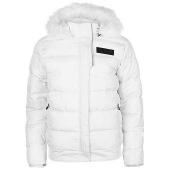 Manteau doudoune femme blanche