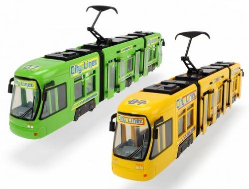 Dickie toys - 203829000 - tramway city liner 46 cm (livré à l'unité, coloris aléatoire)