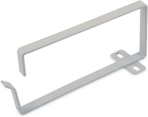 Support de guide-câbles DIGITUS 70 x 150 mm - - 10 pièces - armoire réseau 19 - gestion des câbles - gris