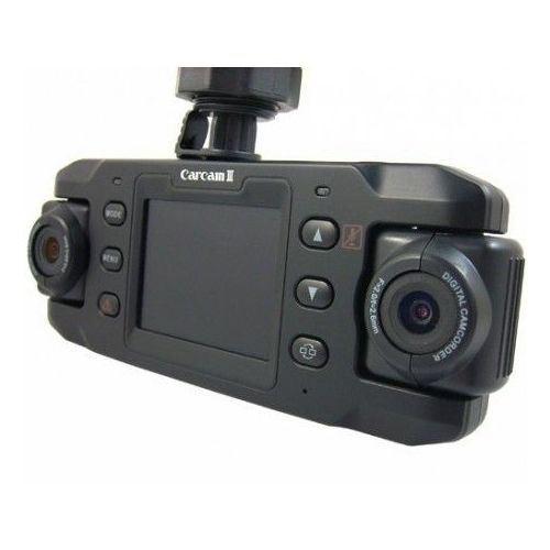 YONIS Double cam/éra embarqu/ée Voiture Full HD 1080p Boite Noir Rotatif 180/° LCD Noir