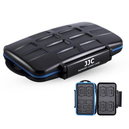 JJC MC-STM18 - Etui 6x SD, 6x MSD, 2x SIM, 2x Micro SIM, 2x Nano SIM