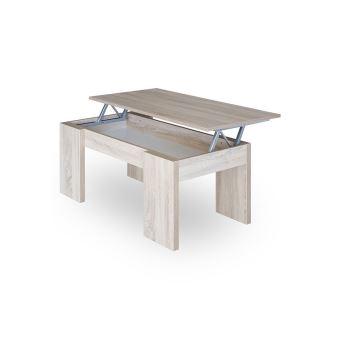 Plateau Rangement Table Gotham Et Avec Couleur Basse Relevable DH29WEI