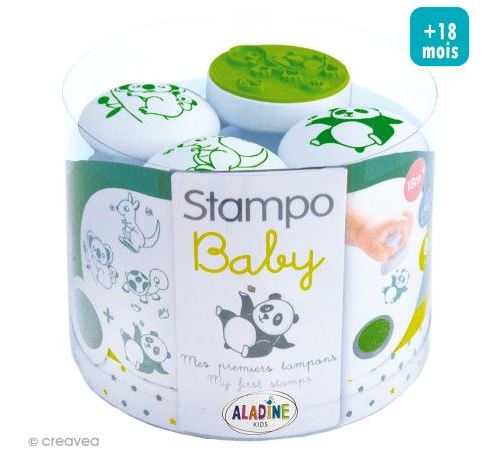 Tampon Stampo'Baby thème animaux