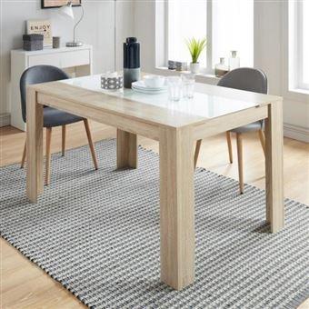 Damia Table A Manger De 4 A 6 Personnes Style Contemporain Decor