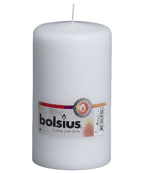 Colonne Bolsius au violoncelle 150/80 blanc
