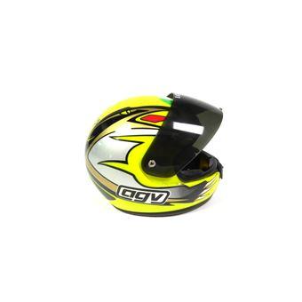 Casque De Moto De Max Biaggi Wc 250 1995 Miniature à Léchelle 1