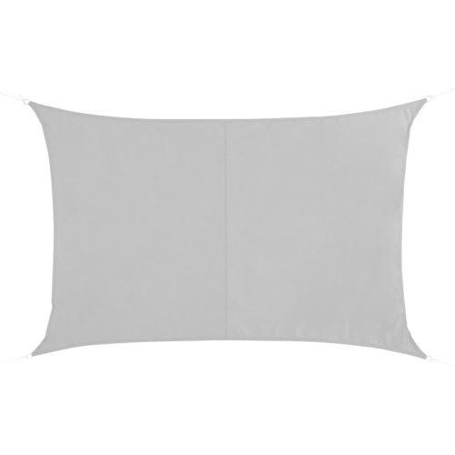 Voile d'ombrage Curaçao 2x3 m blanc