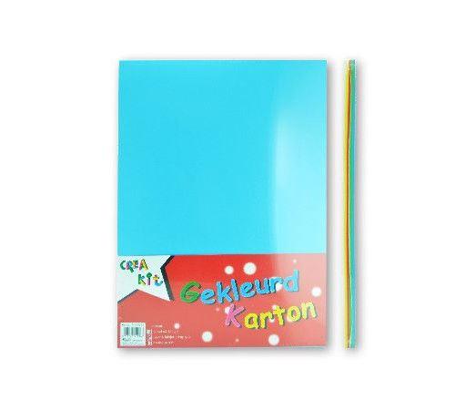 Crea-Kit carton de couleur A4 160 gr 50 feuilles