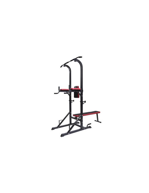 Weider Power Tower Chaise Romaine 4 Exercices En 1 Dips Pompes Traction WEBE99712
