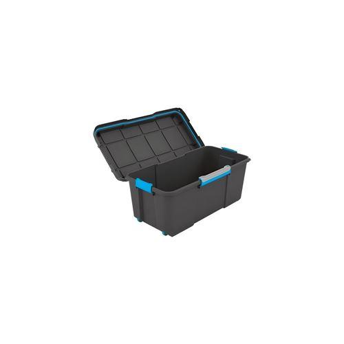 KIS SCUBA BOX 80 L, Rangement, Noir, 78 x 39,5 x 35 cm