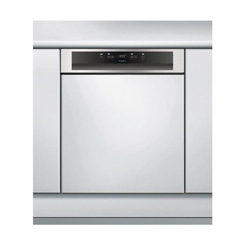 Whirlpool - Lave-vaisselle 60cm 14 Couverts A++ Intégrable Avec Bandeau Apparent Inox