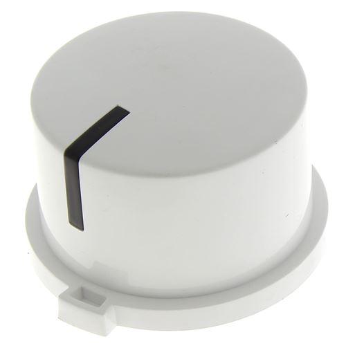 Bouton de programmateur blanc pour Lave-vaisselle Brandt