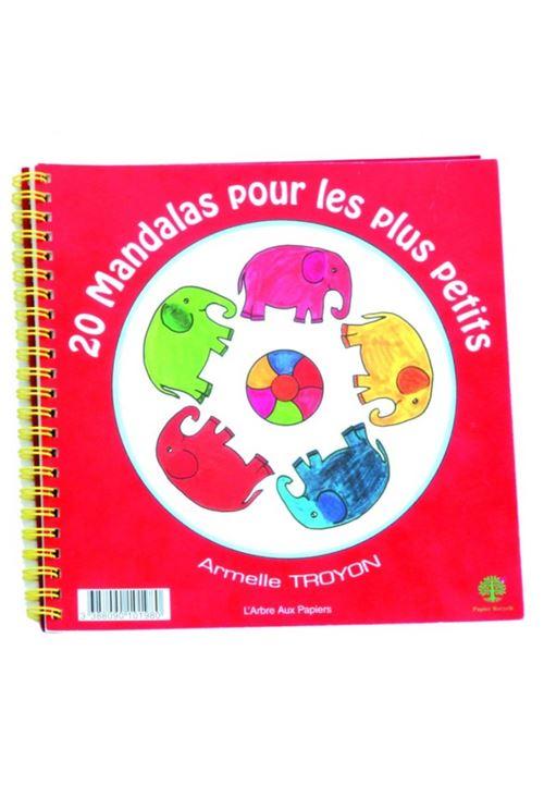 Cahier 20 mandala pour tout-petits
