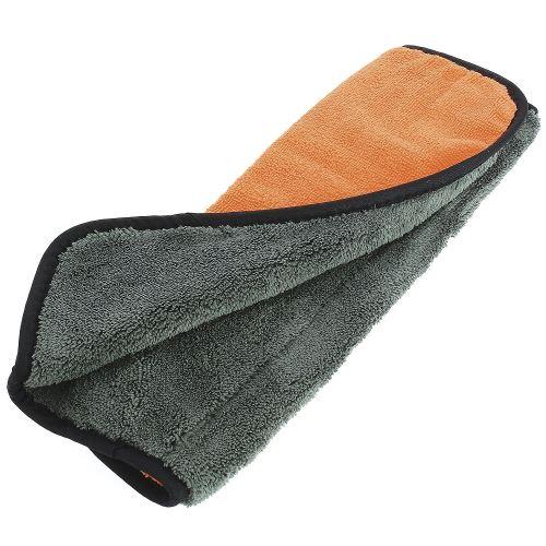 Mr. Kleen polissage tissu 38 x 38 cm orange / gris micro-fibre