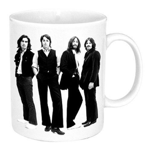 Mug Beatles Black and White