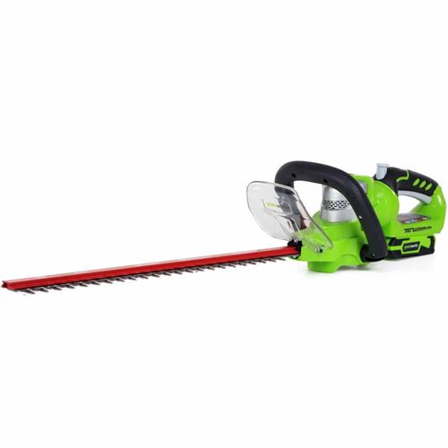 Greenworks tools taille-haies - 24 v - avec poignee