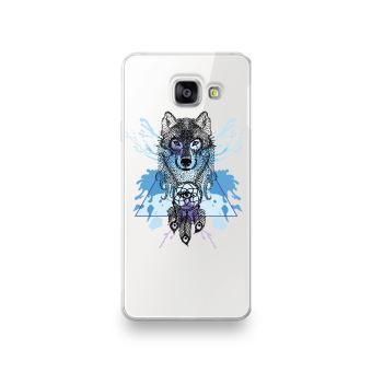 Coque pour Samsung Galaxy S7 EDGE motif Loup Attrape Reve