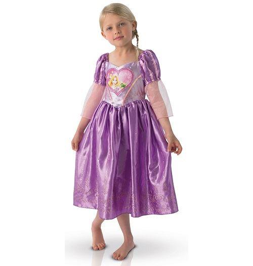 Déguisement raiponce luxe taille 3/4 ans - disney princess