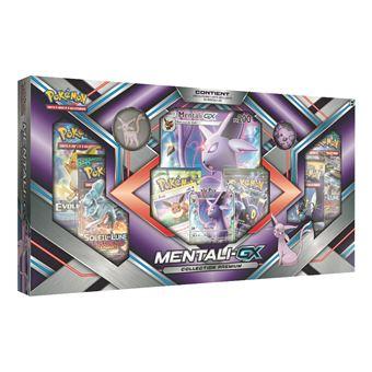 Coffret Pokemon Collection Premium Noctali Gx Francais Jeu De Cartes Jeu De Cartes Achat Prix Fnac