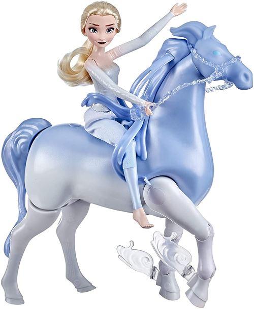 Swim Walk Elsa and Nokk Disney Frozen La Reine des Neiges 2