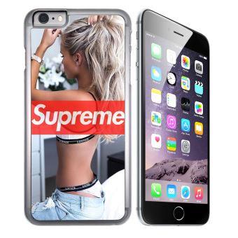 Coque pour iPhone 6 Plus et iPhone 6S Plus supreme girl dos